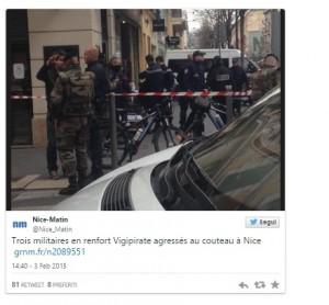 La notizia pubblicata su Twitter da un sito francese