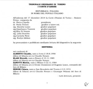 No Tav, assalto a Chiomonte non fu terrorismo: PDF motivazioni della sentenza