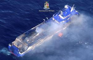 Norman Atlantic, la decima vittima trovata a bordo del traghetto