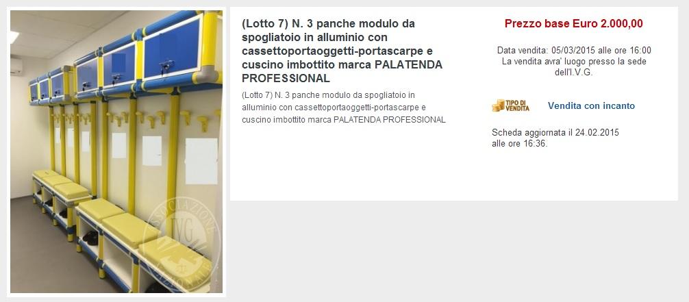 Parma, all'asta giudiziaria finiscono le panchine del Tardini FOTO