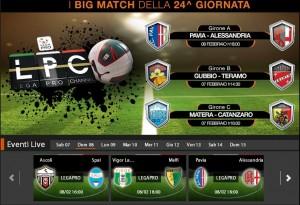 Pavia-Alessandria: diretta streaming su Sportube.tv, ecco come vederla