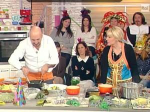 """""""Prova del Cuoco"""", pizzoccheri con il latte: Valtellina contro la Clerici"""