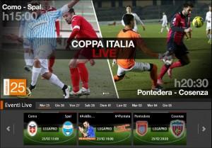Pontedera-Cosenza: diretta streaming con Sportube.tv, ecco come vederla su Blitz
