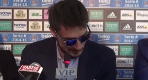 VIDEO YouTube, Gianmarco Pozzecco, addio a Varese in lacrime