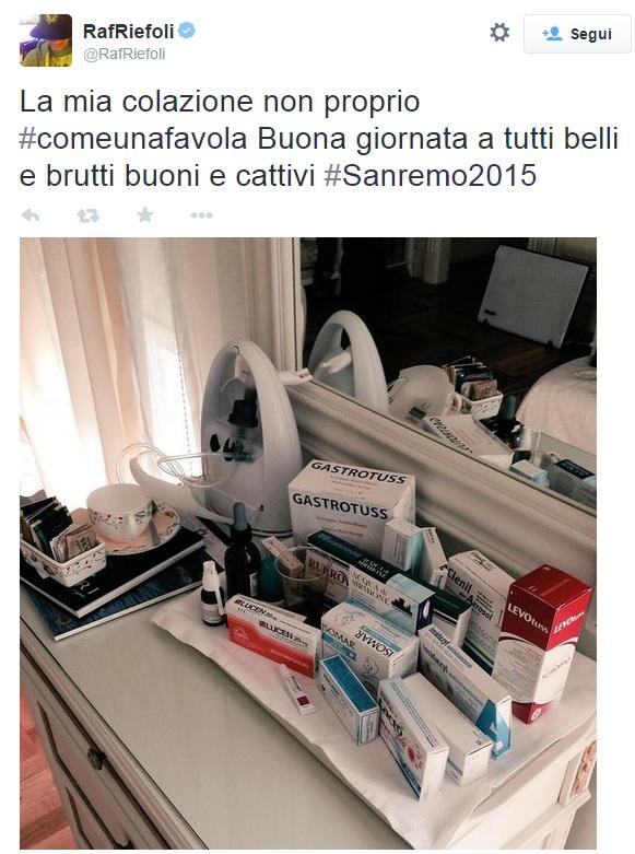 """Festival di Sanremo, Raf in ospedale con bronchite FOTO Conti: """"Stasera canta"""""""