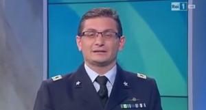 """tenente-colonnello in diretta tv: """"Grazie alle mie due lauree..."""""""