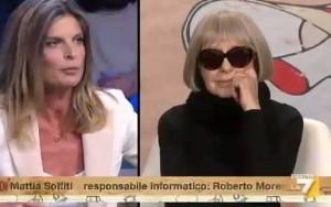 """Laura Ravetto-Natalia Aspesi-Gianfranco Fini: """"Ho fidanzato di sinistra"""", """"Poveretto"""" VIDEO"""