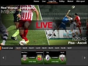 Real Vicenza-Lumezzane: diretta streaming Sportube.tv su Blitz, ecco come vederla