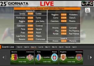 Reggiana-Pontedera: diretta streaming su Blitz con Sportube.tv, ecco come vederla
