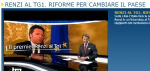 "Rai. Renzi incombe. Sarà ""la più innovativa azienda produttrice di cultura"""