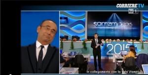 """Sanremo 2015, Rocco Tanica batte i comici: """"Tutti commossi dal barbetta"""" VIDEO"""