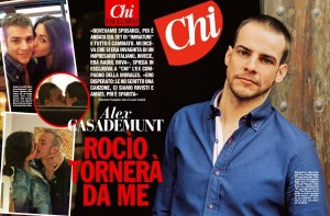 """""""Ha tradito Raoul Bova"""": Rocìo Munoz Morales querela """"Chi"""""""