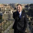 Roma, Monica Bellucci e Daniel Craig ai Fori Imperiali