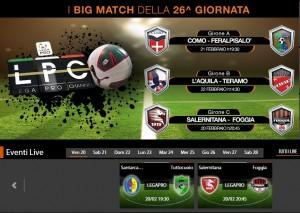 Salernitana-Foggia: diretta streaming su Blitz con Sportube, ecco come vederla