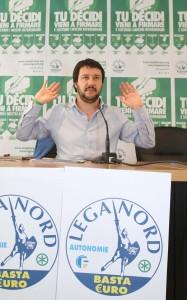 "Matteo Salvini: ""Padani vittime pulizia etnica voluta dall'Europa"""