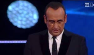 """VIDEO YouTube Sanremo, Carlo Conti annuncia: """"Vince Il Volo"""""""