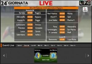 Santarcangelo-San Marino: diretta streaming su Sportube.tv, ecco il link per vederla
