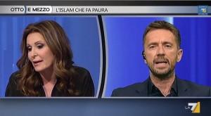 """Andrea Scanzi contro Daniela Santanchè: """"Può squittire dopo la pubblicità"""""""