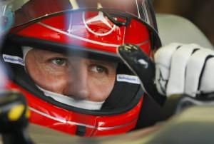 Michael Schumacher (foto Lapresse)