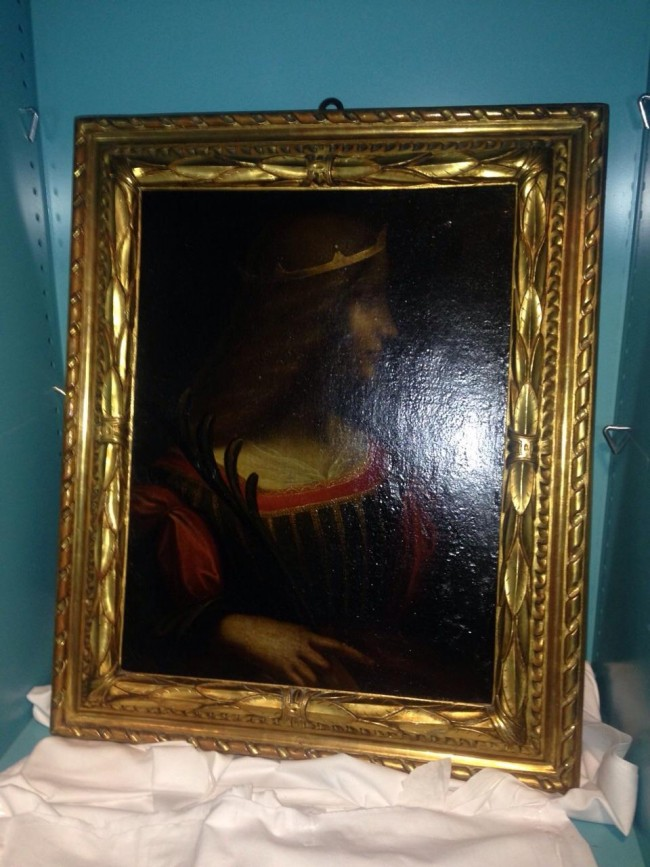 Leonardo Da Vinci, dipinto sparito illecitamente portato in Svizzera: sequestrato