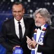 VIDEO YouTube - Sanremo 2015, Massimo Ferrero canta Vita Spericolata 07
