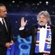 VIDEO YouTube - Sanremo 2015, Massimo Ferrero canta Vita Spericolata 01