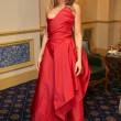 Elisabetta Canalis resta a seno nudo durante ballo a Vienna 08