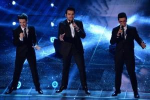 """Festival di Sanremo, Il Volo vince con """"Grande amore"""" (foto Lapresse)"""