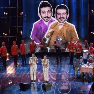 Festival di Sanremo 2015: ai Soliti Idioti scappa la parolaccia VIDEO
