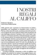 """Domenico Quirico: """"I nostri regali al Califfo"""""""