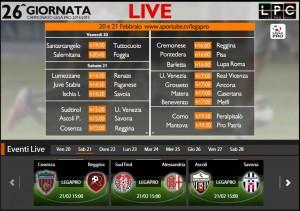 Südtirol-Alessandria: diretta streaming su Sportube.tv, ecco come vederla