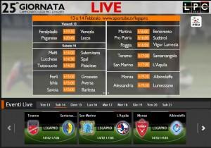 Teramo-Santarcangelo: diretta streaming su Sportube.tv, ecco come vederla