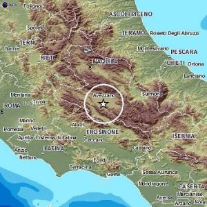 Terremoto L'Aquila, scossa magnitudo 3.9 avvertita ad Avezzano, Frosinone, Sora