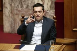 """Tsipras: """"La Germania ci paghi i danni di guerra"""""""
