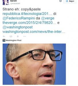 """""""Federico Rampini copia"""": l'accusa della traduttrice Marion Sarah Tuggey"""