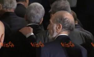 Quirinale, Berlusconi abbraccia Nichi Vendola