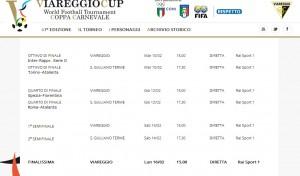 Viareggio 2015: dove guardare Roma-Atalanta e Spezia-Fiorentina