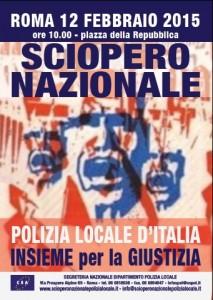 Su Roma la marcia dei vigili urbani: invece che dirigere bloccheranno il traffico