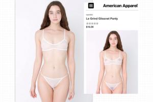 American Apparel cancella i capezzoli dalle modelle minorenni. Le femministe...
