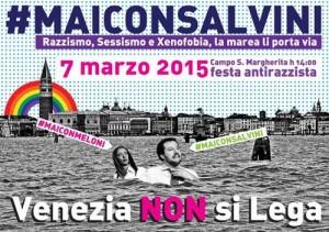 Venezia, Giorgia Meloni e Fratelli d'Italia da una parte, centri sociali dall'altra