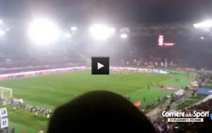 """Nuovo coro di sfottò contro Francesco Totti: """"C'è solo un capotreno"""""""