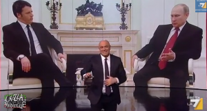 "Video YouTube, Maurizio Crozza: ""Renzi da Putin, prima volta mi fido più di lui"""