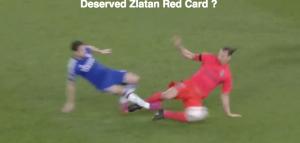 VIDEO YouTube, Ibrahimovic espulso in Chelsea-Psg: fallo su Oscar