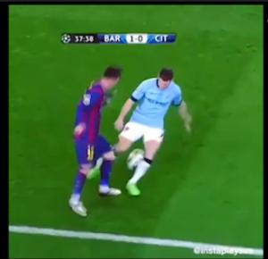 VIDEO YouTube, Messi: tunnel che manda in estasi Guardiola in tribuna