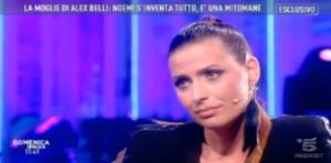"""Noemi Addabbo: """"Alex Belli ha tradito la moglie con me, ho foto private"""""""