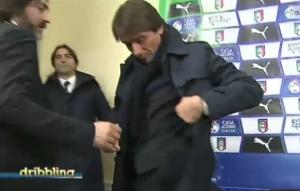 VIDEO, Antonio Conte furioso per caso Marchisio: sbrocca e se ne va