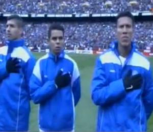 I calciatori di El Salvador