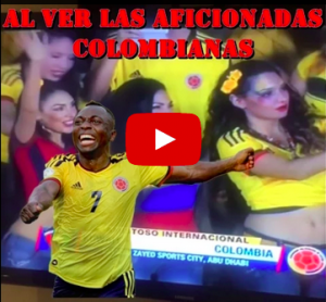 VIDEO YouTube: sexy tifose colombiane mandano in tilt Armero