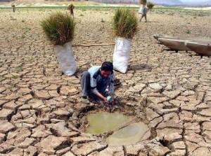 Pozza d'acqua nel deserto