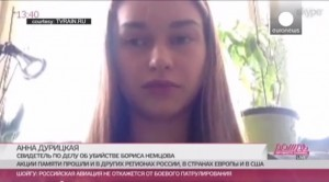 VIDEO YouTube. Nemtsov ucciso, fidanzata Anna Duritskaya racconta omicidio